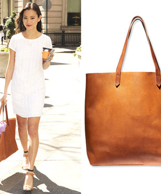 Giveaway Alert! Tweet for a Chance to Win Jamie Chung's Madewell Tote