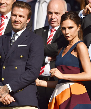 David and Victoria Beckham Celebrate their Anniversary at Wimbledon (and Not Surprisingly, They Look Super Stylish)