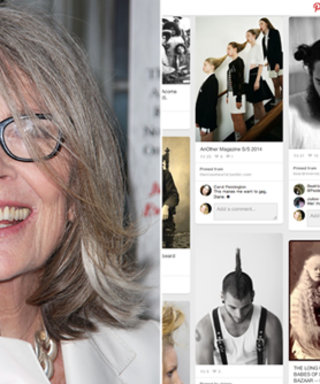 Diane Keaton Is Our New Pinterest Hair Muse