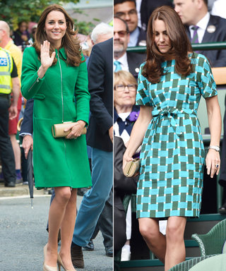Kate Middleton Sports Two Bright (and Recycled!) Looks Over the Weekend