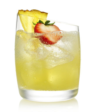 Happy Piña Colada Day! We're Toasting with a Strawberry Pineapple Version of the Summertime Sip