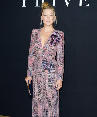 Kate Hudson Brings the Glitz and Glam to the Armani Prive Fall 2014 Show