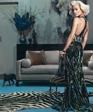 Rita Ora Channels Marilyn Monroe in the New Roberto Cavalli Campaign