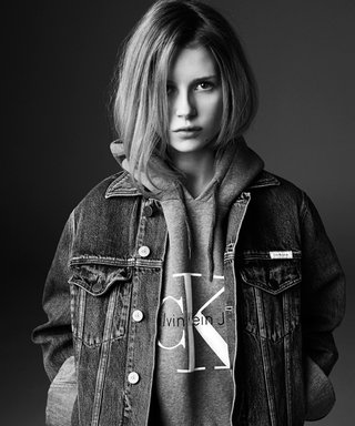Lottie Moss Channels Big Sister Kate in Calvin Klein Jeans Campaign