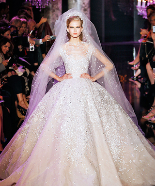 The 10 Swoon-Worthy Wedding Dresses from Fall 2014 Couture Fashion Week