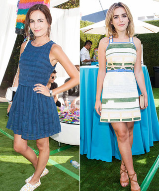 Camilla Belle, Kiernan Shipka, and More Step Out in Style for the Just Jared Summer Fiesta
