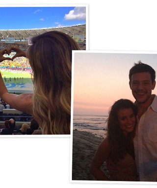 From Gisele at the World Cup Final to Lea Michele's Tribute to Cory: See the Weekend's Celeb Instagrams