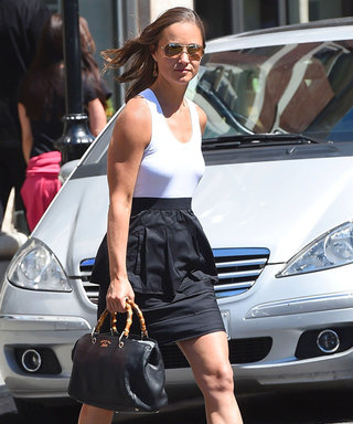 Pippa Update! Middleton Shows Off Her Street Style in London