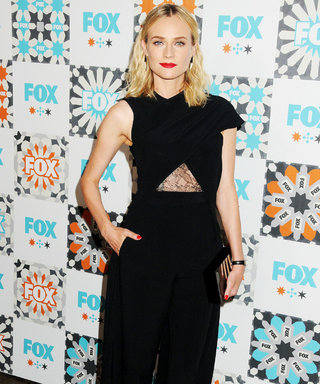 Diane Kruger Rules the Red Carpet in a Jumpsuit—Complete with a Train!