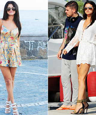 Selena Gomez Shows How Rompers Are Her Easy-Breezy Vacation Wardrobe Staple