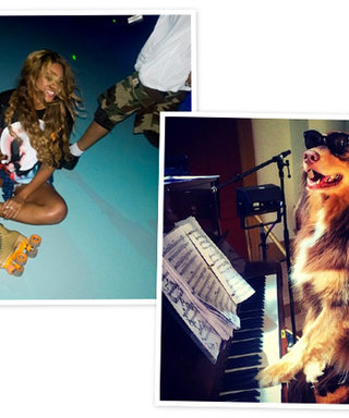 From Beyoncé on Skates to Amanda Seyfried's Musical Dog: See the Weekend's Celeb Instagrams