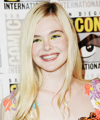 Here's How to Pull Off Yellow Eye Shadow Like Elle Fanning