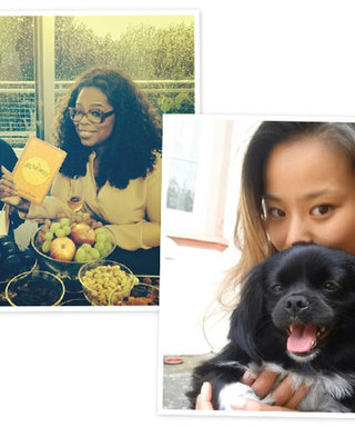 From Oprah's Swiss Trip to the Cutest Celebrity Pets: See the Weekend's Best Instagrams