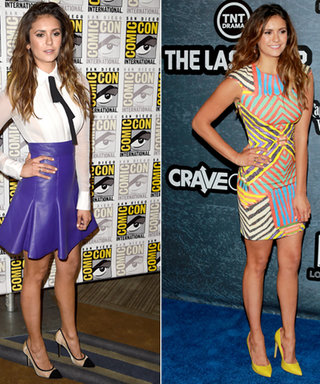 Nina Dobrev Flaunts Four Fierce Looks Over Comic-Con Weekend