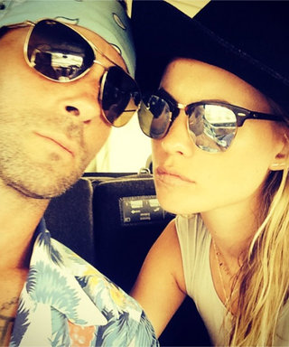 Adam Levine and Behati Prinsloo Share Their First Selfie as a Married Couple