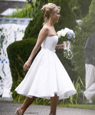 You'll Never Guess Who Inspired Cheryl Hines's Wedding Dress Design