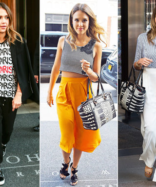 Triple Threat! Jessica Alba Wears a Trio of Casually Cool Looks in One Day
