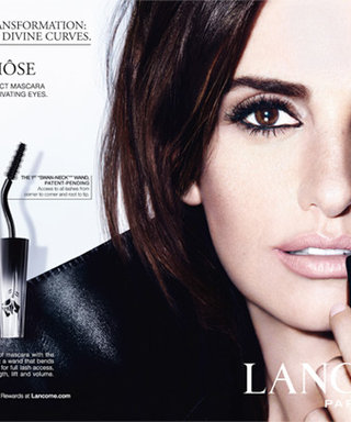 Penelope Cruz and Her Lush Lashes Star in Lancôme's Newest Campaign