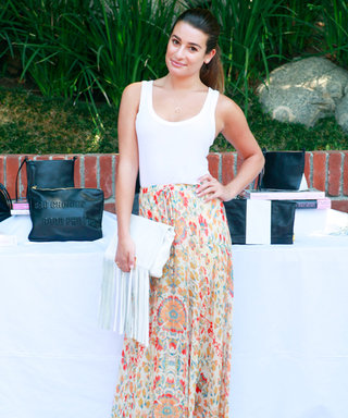 What Would Lea Michele Do If She Wasn't an Actress? Quite Possibly Be a Florist