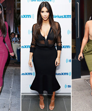 Kim Kardashian Wears Three Body-Hugging Looks in Under 24 Hours