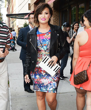 Demi Lovato Hits All the Right Style Notes in an Upbeat Ensemble
