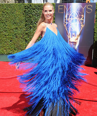 Heidi Klum Whirls and Twirls in the Dress That Everyone Is Talking About