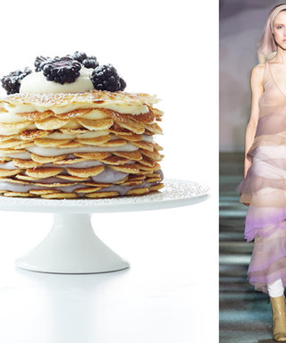 From the Runway to the Dessert Tray: Make This Ombré Cake Inspired by a Marc Jacobs Gown