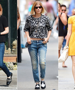 Kate Mara Loves Loafers! See How the Actress Styles the Menswear-Inspired Shoe