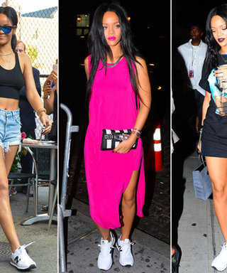 Rihanna's Latest Footwear Obsession? $80 New Balance Sneakers That You Can Shop Now
