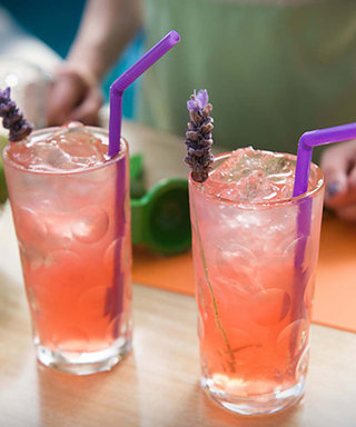 Sweeten Your Long Weekend with a Sparkling Grapefruit Lavenderita Cocktail