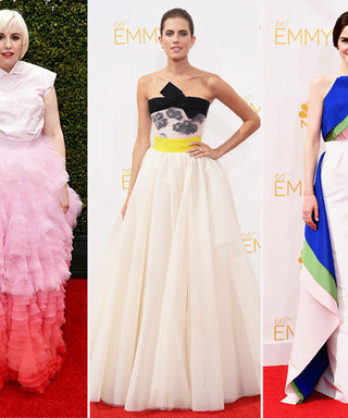 Pop! Celebrities Add Vibrant Splashes of Color to Their 2014 Emmys Looks