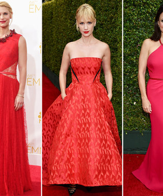 Ladies in Red! See All the Stars Who Sizzled at the Emmys