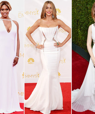 2014 Emmys Trend Alert! See the Stars Who Embraced Everyone's Favorite Non-Color