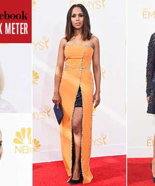 The InStyle and Facebook Red Carpet Talk Meter Results Are In! See the Most Buzzed-About Moments from the 2014 Emmys