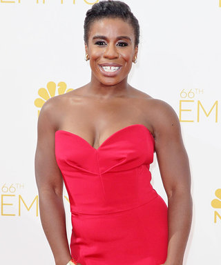 Uzo Aduba's Glam Squad Reveals How the OITNB Star Prepped for the Emmys