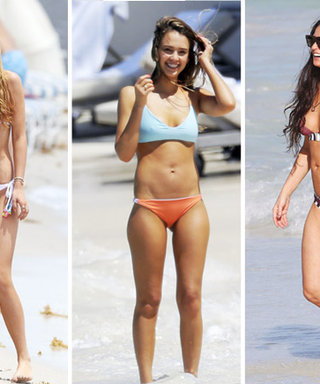 Say Goodbye to Summer with the Best Celeb Bikinis of the Season!