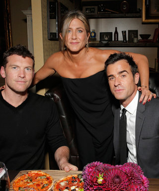 Jennifer Aniston, Justin Theroux, and Sam Worthington Celebrate Cake at the Toronto International Film Festival