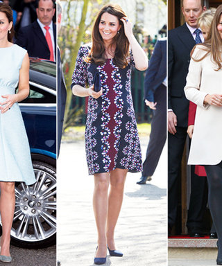Take a Look Back at Kate Middleton's Chic Maternity Style History
