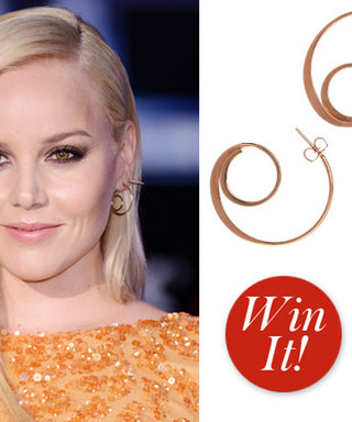 Giveaway Alert! Tweet for a Chance to Win Abbie Cornish's Slight Jewelry Earrings
