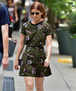 We're Obsessed! Get Kate Mara's Flirty Summer-to-Fall Dress for $110