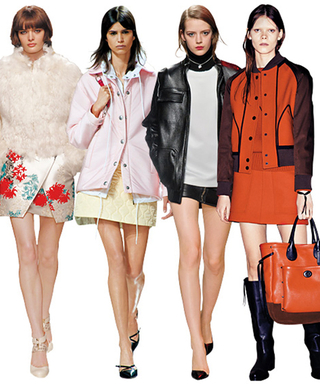 13 Miniskirts to Ease You into Fall
