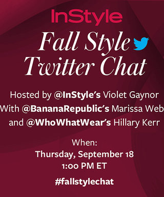 Join Us for a #FallStyleChat with Banana Republic and Who What Wear on Thursday, September 18!