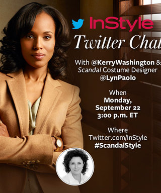 Join Us for a Twitter Chat with Kerry Washington and  Scandal Costume Designer Lyn Paolo