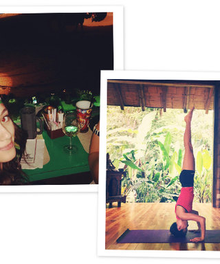 10 Celebrity Instagrams from the Weekend: Emmy Rossum Went Medieval, Jamie Chung Did Yoga