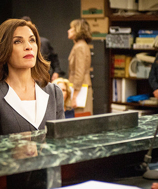 The Good Wife's Work Outfit Inspo for the Week: Try a Contrasting Lapel