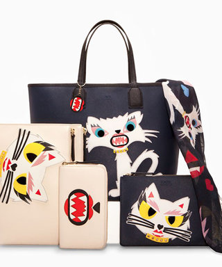 Purr-fection! Karl Lagerfeld Designs a Line of Choupette Clothing and Accessories