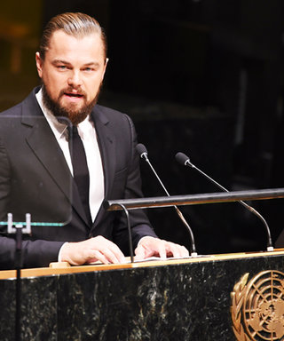 """Leonardo DiCaprio Delivers Powerful Message at UN Climate Summit: """"Now Is Our Moment for Action"""""""