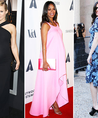 3 Impeccable Ways Kristen Bell, Liv Tyler, and Zoe Saldana Dressed Their Baby Bumps