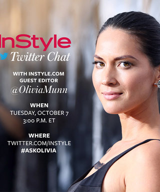 Olivia Munn Is Our Guest Editor! Join Today's Twitter Chat