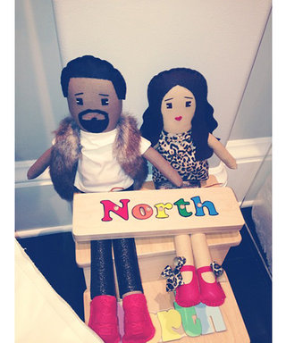 Check Out North West's Adorable Kim Kardashian and Kanye West Dolls